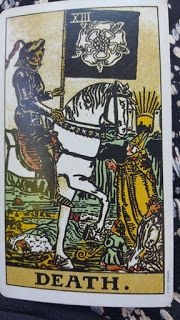 Tarot Tuesday: The Death Card: Let Something Go http://ghostsandspiritsinsights.blogspot.com/2017/05/tarot-tuesday-death-card-let-something.html