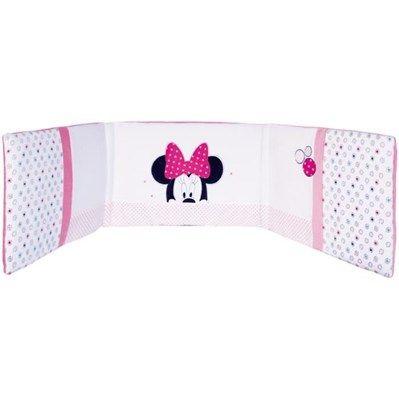 MINNIE Patchwork Tour De Lit 40 x 180 cm Fille Blanc et rose - Achat / Vente tour de lit bébé 3148801013731 - Cadeaux de Noël Cdiscount