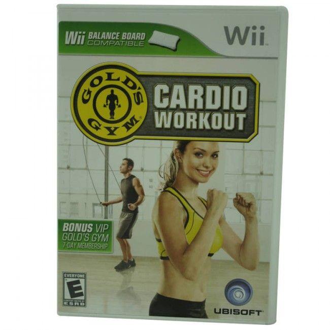 Juego Nintendo Wii Cardio Workout - Juegos de Consola - TV, Consolas y Juegos - Tecnología - Sensacional