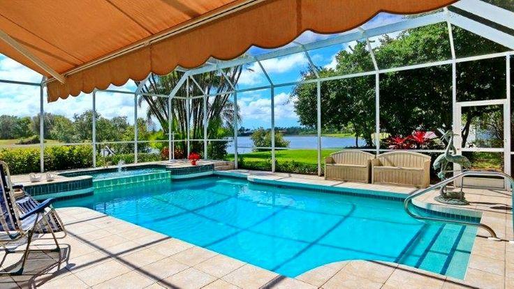 Solar Heated Pool & Spa in River Club (Bradenton)