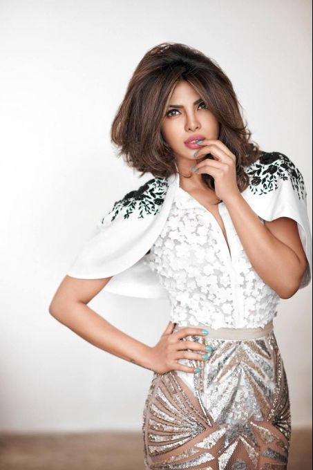 Priyanka Chopra photoshoot for Cosmopolitan India Magazine March 2015.