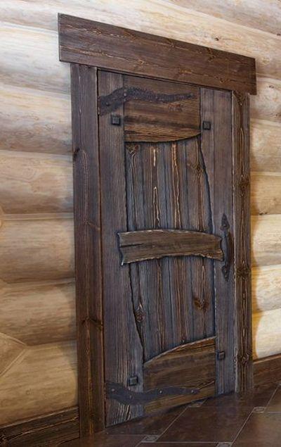 Дверь под старину Таёжная