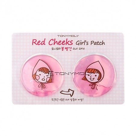 TONYMOLY- RED CHEEK'S GIRLS PATCH > CLEANSING/PACK/MASSAGE | TONYMOLY GLOBAL