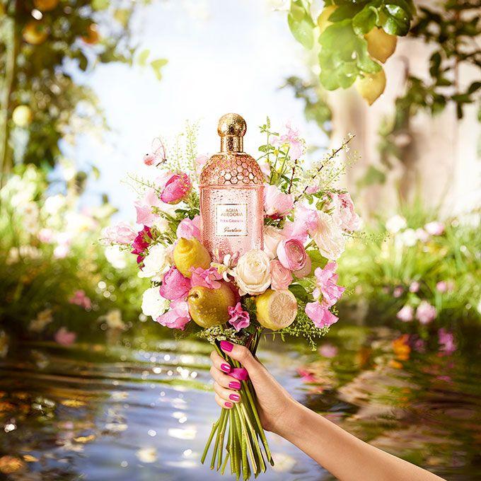 ゲラン新作香水「ペラ グラニータ」 - ギリシャ神話の楽園をキンモクセイや洋ナシなどで表現の写真1