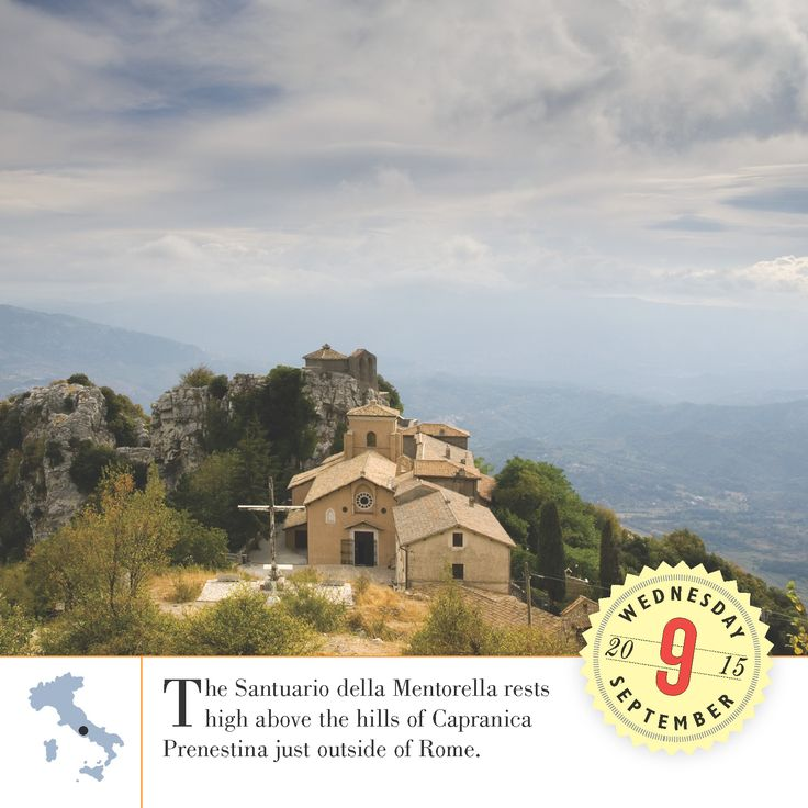 """Don't mistake this """"suburb"""" of Rome as a place to miss. The beautiful views of Capranica Prenestina and quiet village is a relaxing area for all travelers. #Italy #Travelgram #Instatravel #BestoftheDay #Wanderlust"""