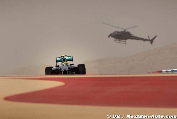 F1 - Grand Prix de Bahrein - Sakhir 2012, Qualifications : Rosberg, p5 #F1 #Formula1