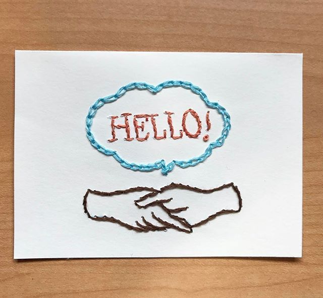 刺繍のやり方をご紹介!絵や文字が初心者でもできる基本ステッチ ... @itopy17さんの投稿