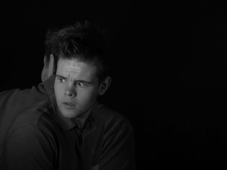 Layered multiple images. A series exploring mental illness. Unit 4 Alevel photography supporting image