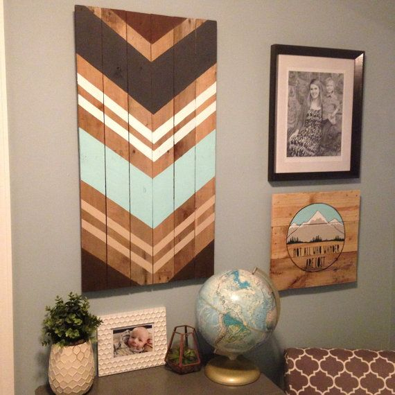 19 diy wall decoration ideas - Wooden Wall Decoration Ideas