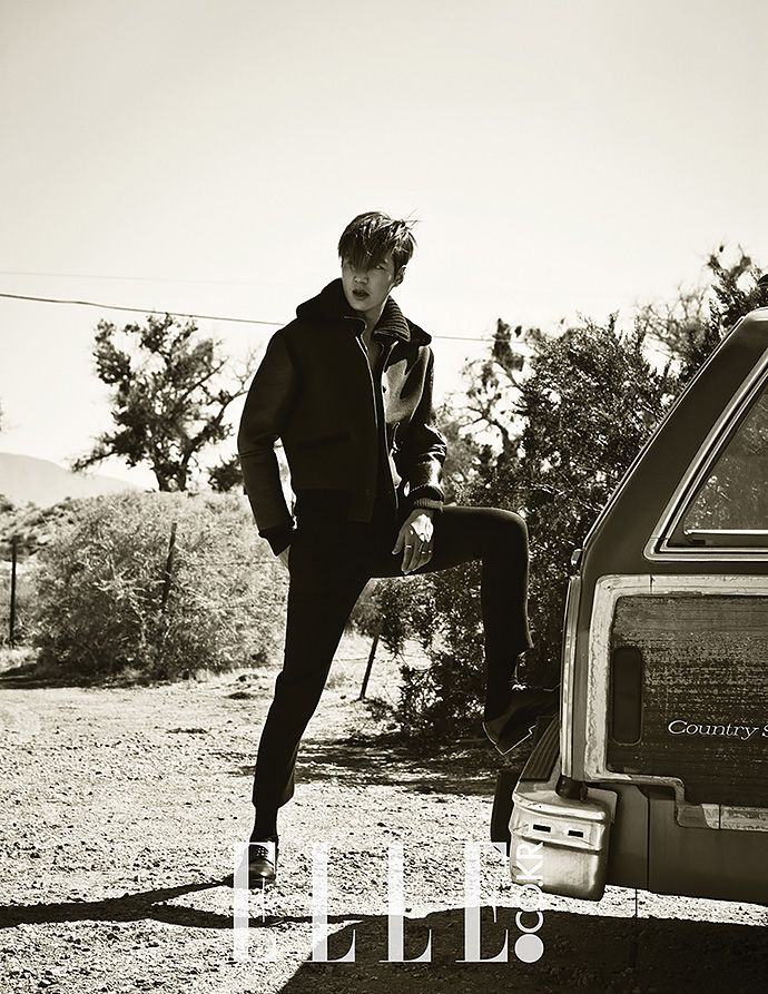 Lee Min Ho - ELLE Korea September '15