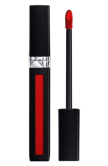 Rouge Dior Liquid Lip Stain, 999 Matte