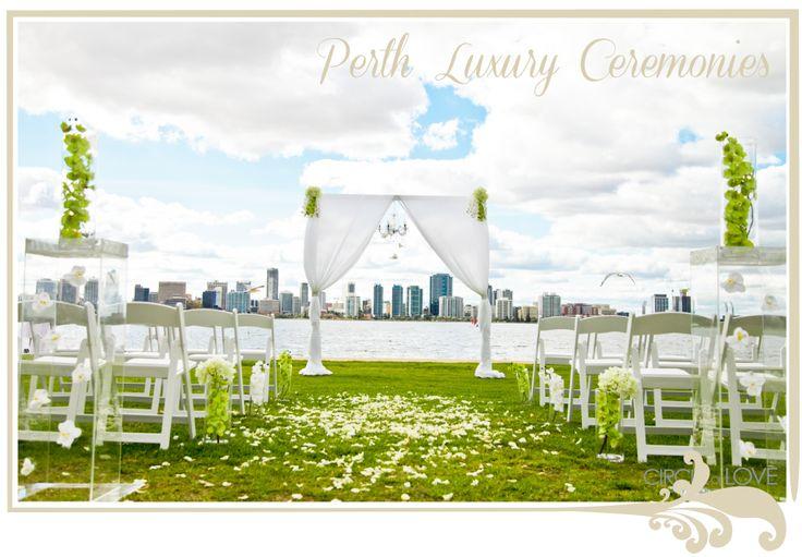 wedding hire perth, wedding ceremony venues, styling