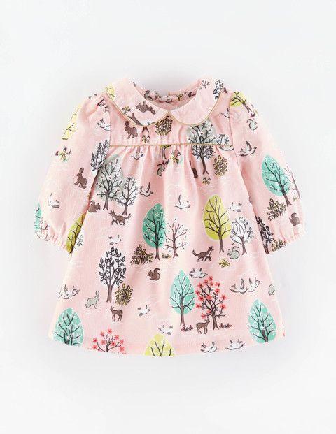 Charming Printed Cord Dress