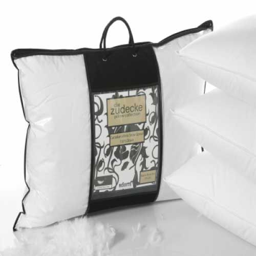 """<p>Die Zudecke Canadian Goose Down Pillows are filled with one the finest handpicked pure down fillings you can buy.</p> <p>Excellent quality, comfort and value for money with our price promise guarantee.</p> <div class=""""partofset""""> Click here <a href=""""/die-zudecke-canadian-goose-down-duvets.html"""">Canadian goose Down Duvets and Pillows</a> to view all of%..."""