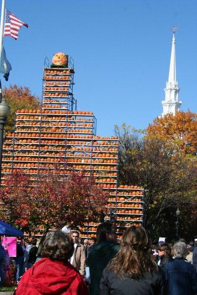 Keene Pumpkin Festival-- Towers of jack-o-lanterns, fall foods and fun!