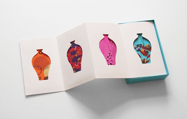 CNY Pocket For Polytrade Paper by Ken Lo, via Behance