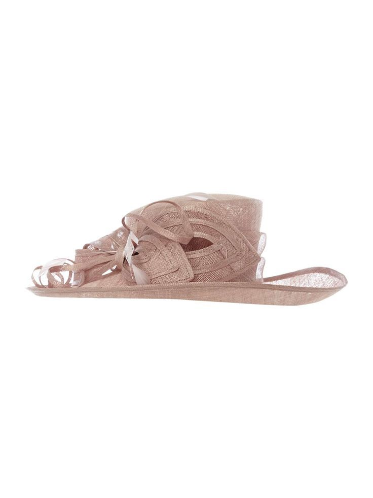 Suzanne Bettley Sinamay Hat With Coques And Bow Detail - House of Fraser cb0ce93c985