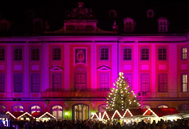 Schloss Heidecksburg-Fassade