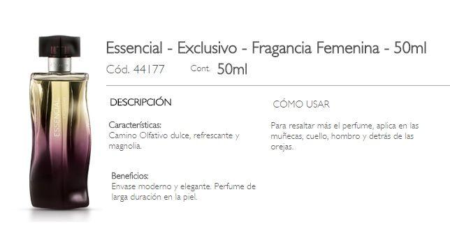 ESSENCIAL - EXCLUSIVO FEMENINO