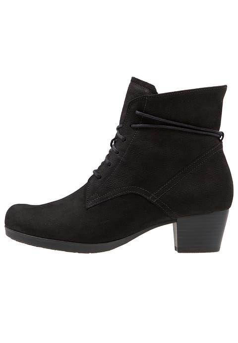 Chaussures Gabor Bottines à lacets - schwarz noir: 110,00 € chez Zalando (au 03/07/17). Livraison et retours gratuits et service client gratuit au 0800 915 207.