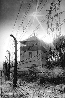 Buchenwald concentration camp - Wikipedia, watchtower July 1937