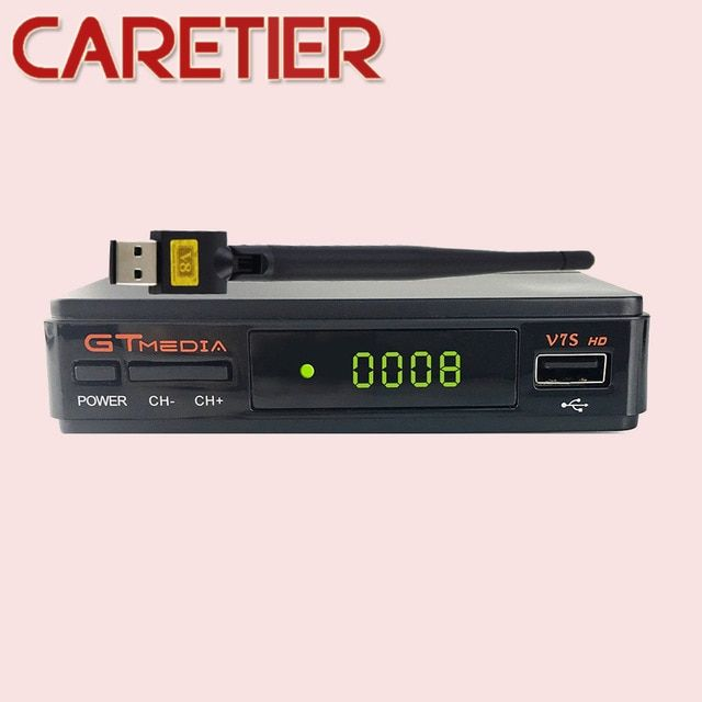 1PC GTMEDIA V7S/FREESAT V7S Satellite Receiver DVB-S2 1080p hd