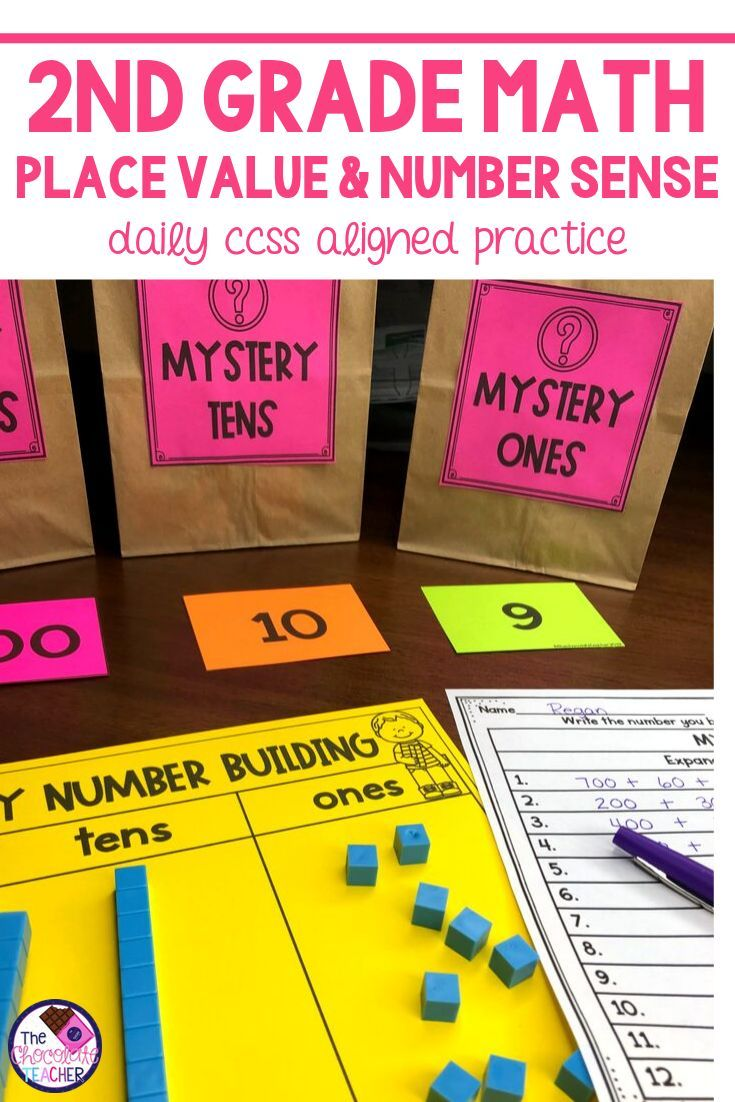 Number Sense Can Be Tricky For Young Learners I M Always Looking For Fun Ways To Teach And Practice This Have Decid Place Values 2nd Grade Math Number Sense [ 1102 x 735 Pixel ]