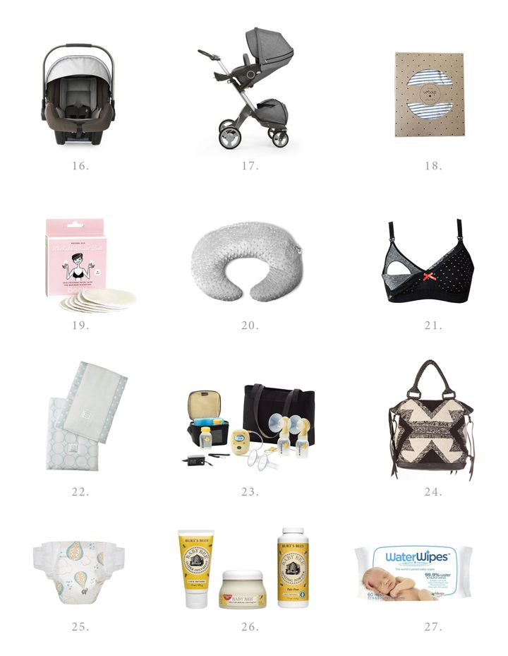 Kelli Murray   New Baby Checklist: The First 6 weeks