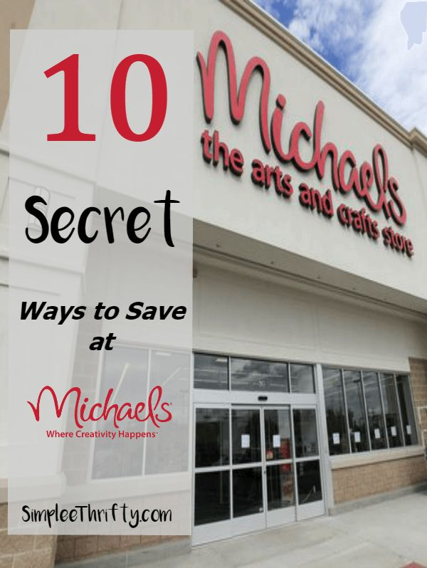 FYI---- Michaels Senior Discount:  Save 10% on every purchase. If you are age 55 years or older, take 10% off your entire purchase every day, including regular and sale price merchandise. Simply present a valid ID at the register. Some exclusions apply.