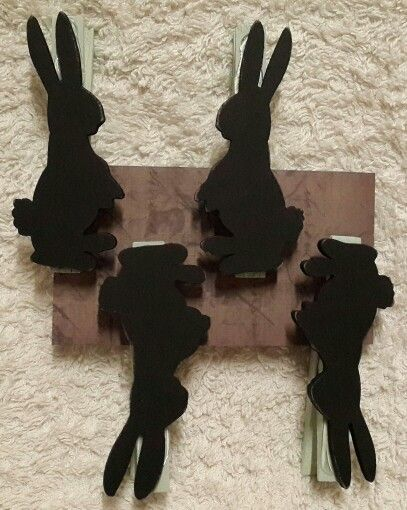 Rabbit black bord pegs... Orders @ creative.organizingandcleaning@gmail.com or  phoe Rozanne 071 679 3376