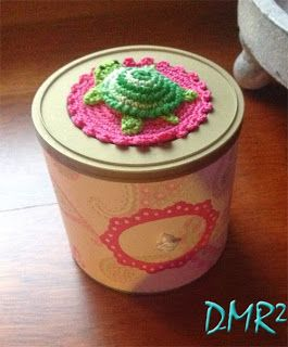Recycle tobacco cans