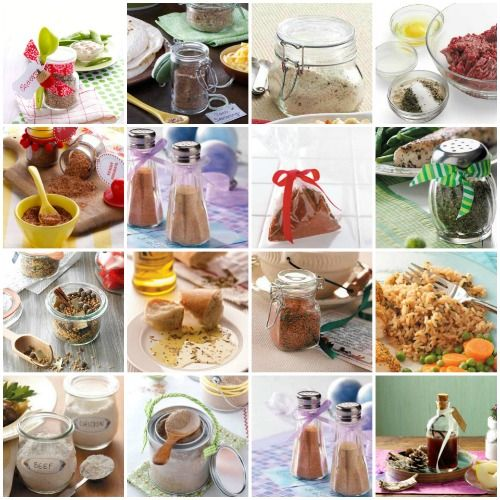 Recipes for Homemade Mixes for Popular Pantry Staples from Taste of Home
