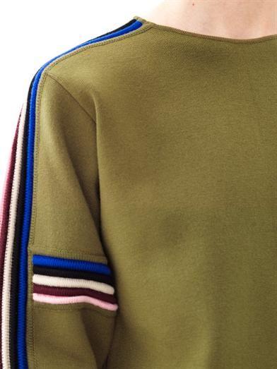 MSGM / knit stripe / pesto / #MIZUstyle