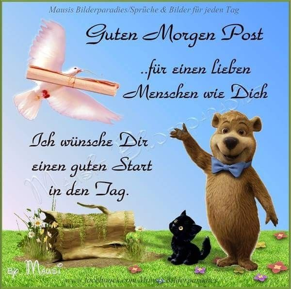 Guten Morgen Guten Morgen Good Morning Good Day Und Christmas