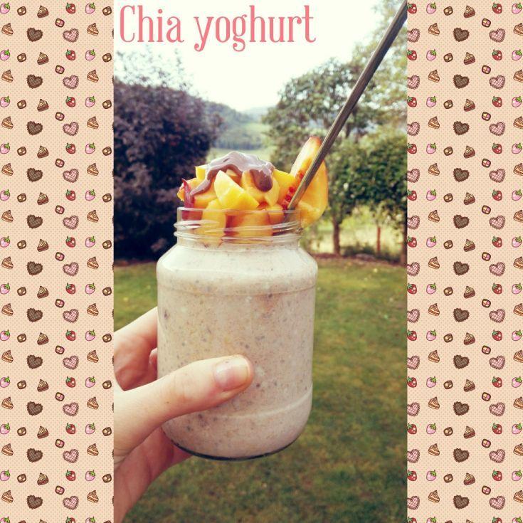 Chia jogurt