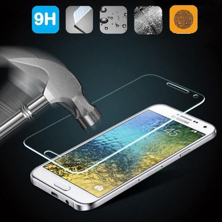 9H Tempered Glass For Samsung Galaxy J5 J7 J1 mini J3 A3 A5 A7 C5 C7 2016 S3 S5 mini S6 S4 Note 3 4 5 Screen Protector Film