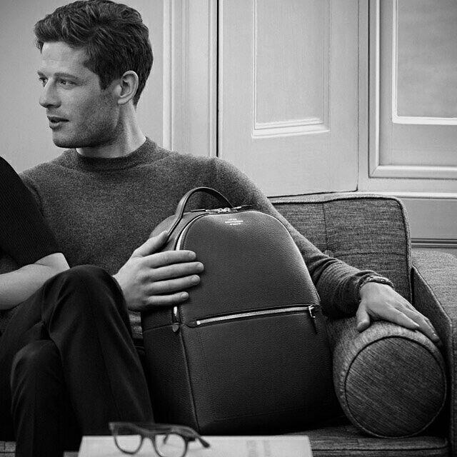 James Norton for Smythson, black & white