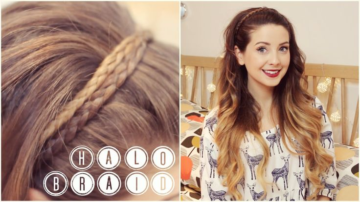How To: Halo Braid | Zoella