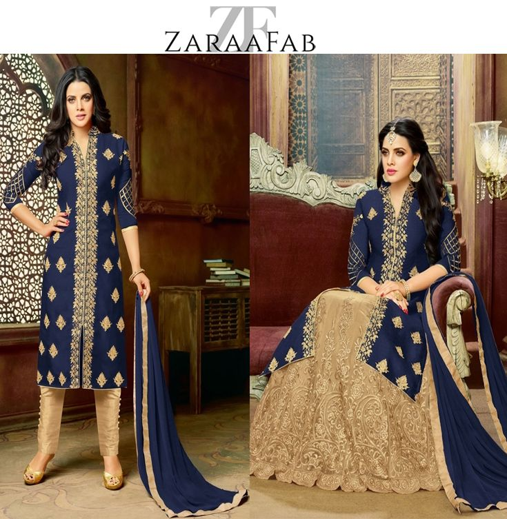 Most common reason of designer salwar Kameez is ethnic designs. Buy latest bollywood designer salwar suits collection which are beautifully designs work at ZaraaFab.  #indianwear #latestfashion #salwarsuit #bollywoodfashion #partywearsalwar #salwarkameez #onlineshopping