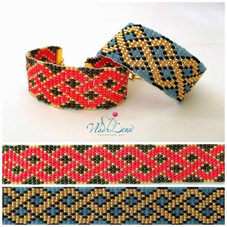 Vladi Lena: Boho beaded loom friendship bracelets