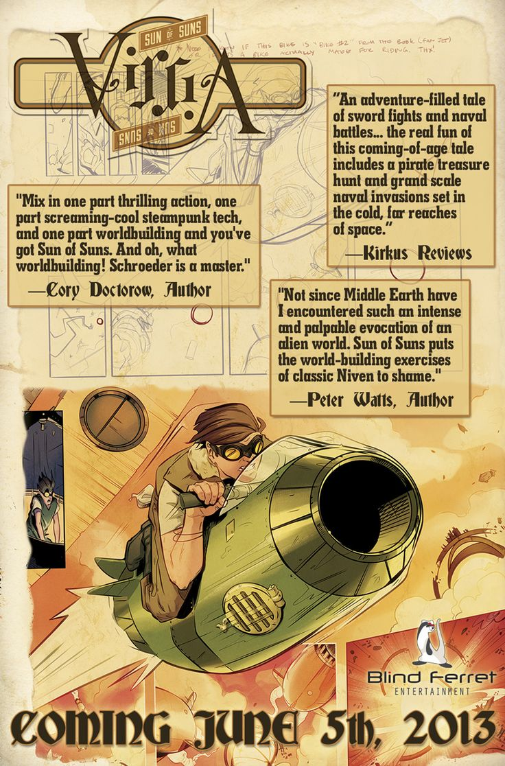 Review: Karl Schroeder's VIRGA Becomes Graphic Novel