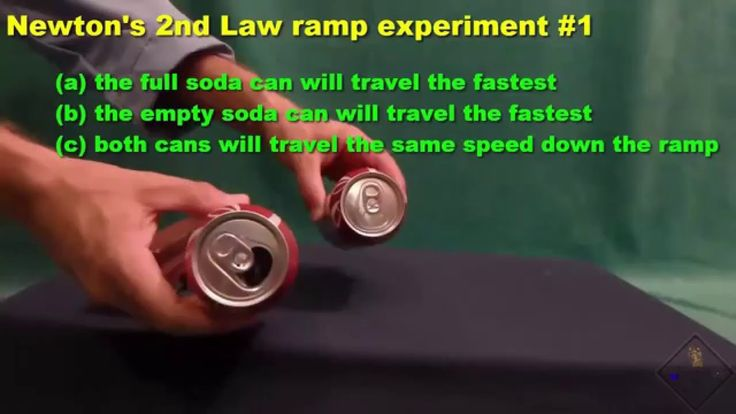 newtons 2nd law ramp experiments a science with bobert video short