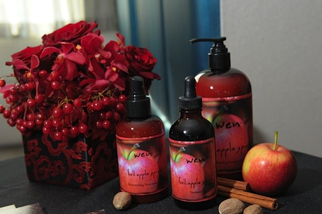 Chaz Dean Fall Apple Spice Collection @Wen Hair Care
