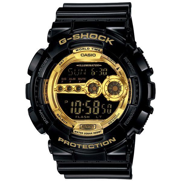 G shock Casio 6600 Black×Gold Series GD-100GB-1JF