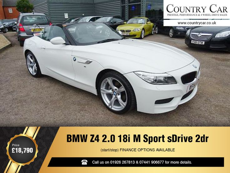 BMW Z4 2.0 18i M Sport sDrive 2dr (start/stop) FINANCE OPTIONS AVAILABLE. Price: £18,790 Call us on 01926 267813 & 07441 906677 for more details.