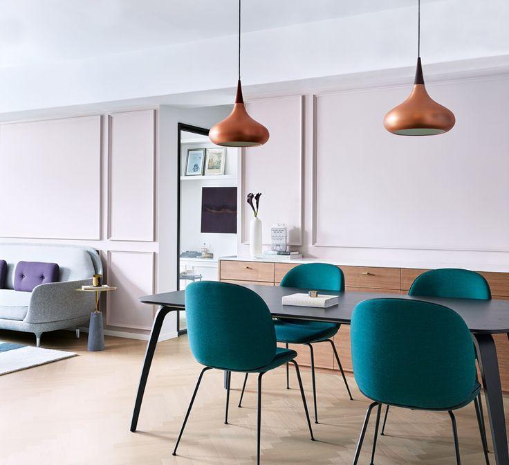GUBI Beetle Chair By Gam Fratesi ChenHome ToursHome InteriorsDining TablesDining RoomsHong KongBeetleParisiansApartments