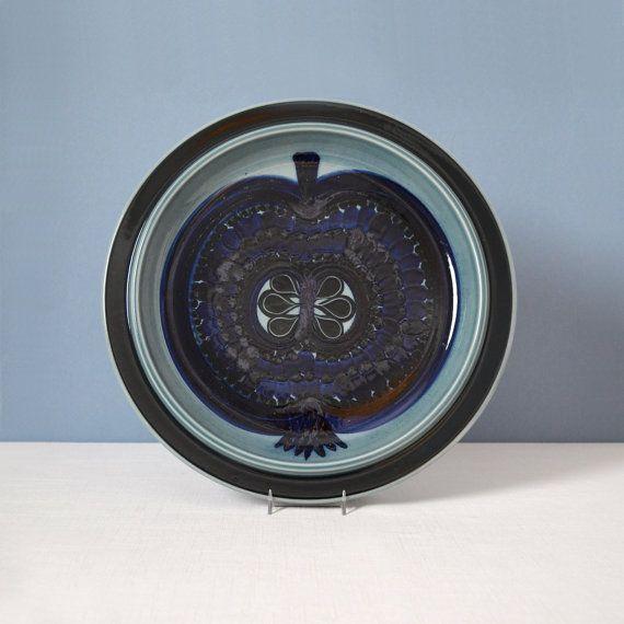 Vintage Large Arabia of Finland Fructus Platter