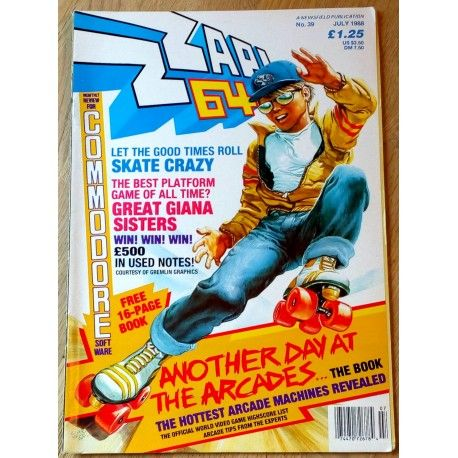 Zzap! 64: 1988 - Nr. 39 Commodore 64