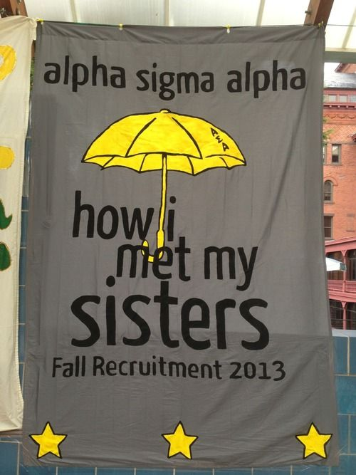 Sheet sign from ASA Delta Epsilon chapter!