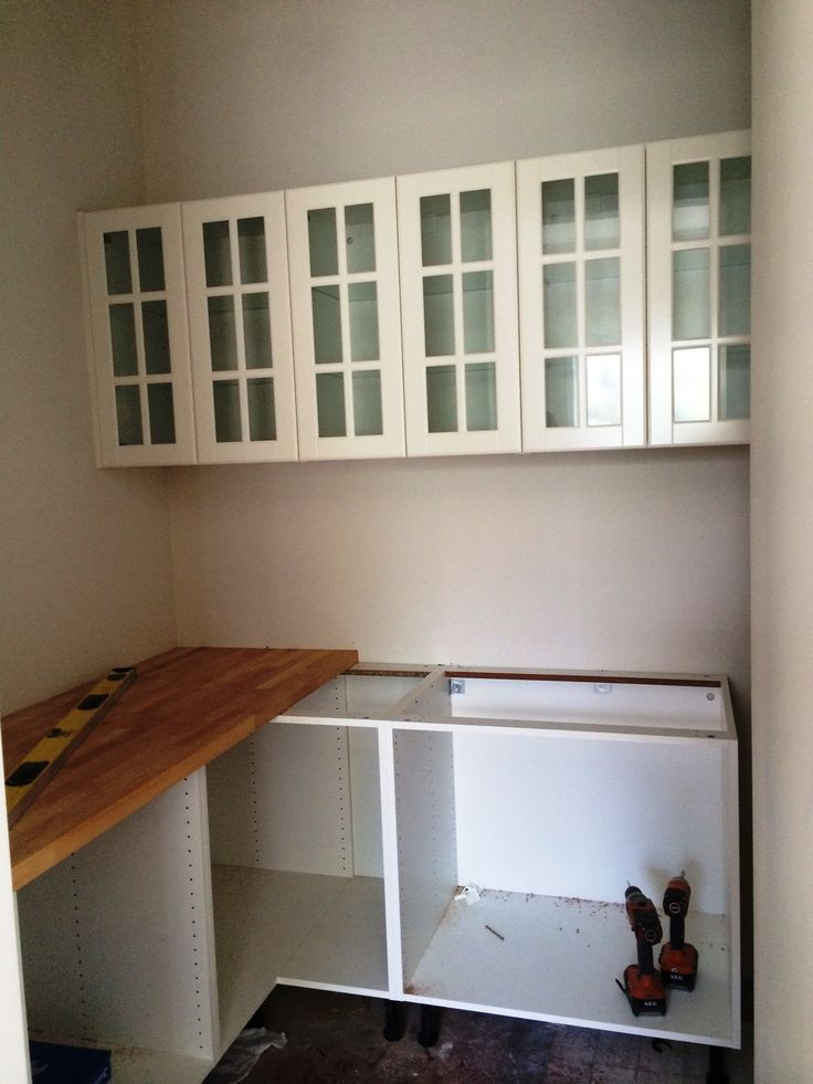 installing a butler's pantry.